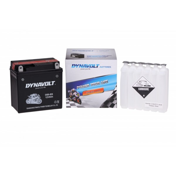 Dynavolt AGM DB9-BS / YB9B / YTX9A-BS