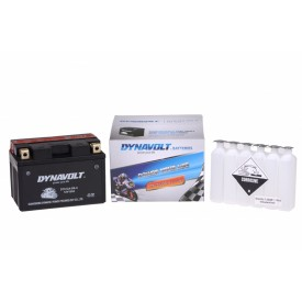 Dynavolt AGM DTX12A-BS-C / YTX12A-BS-C / YT12A-BS (DIN 51101)