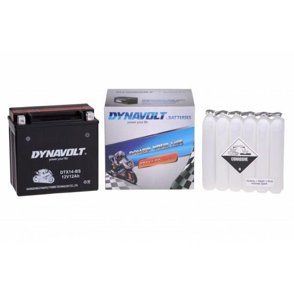 Dynavolt AGM DTX14-BS / YTX14-BS (DIN 51214)