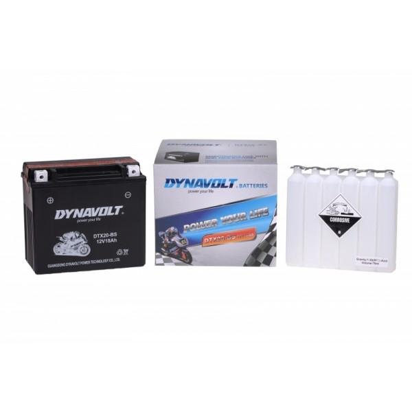 Dynavolt AGM DTX20-BS / YTX20-BS (DIN 51802)