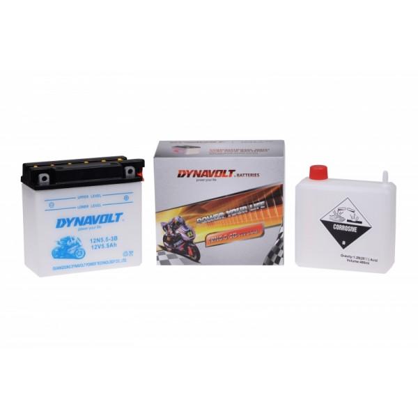 Dynavolt Classic 12N5.5-3B (DIN 50611)