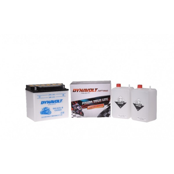 Dynavolt Classic D60-N24L-B / Y60-N24L-B / Y60-N24A-LB (DIN 52510)