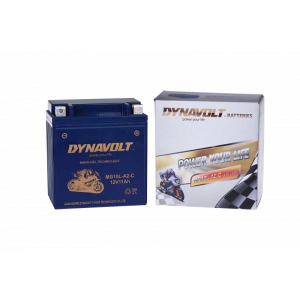 Dynavolt GEL MG10L-A2-C / MGZ10L-A2 / GB10L-A2 (DIN 51112)