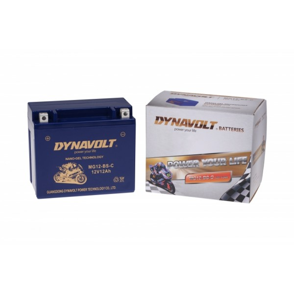 Dynavolt GEL MG12-BS-C / MGZ12-BS / GTX12-BS (DIN 51012)