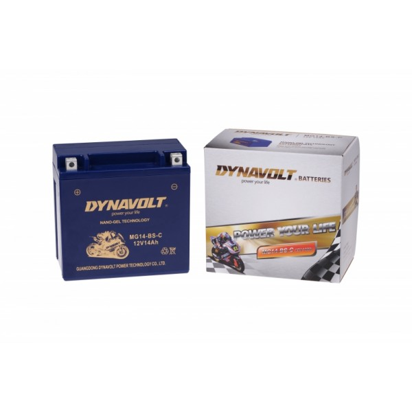 Dynavolt GEL MG14-BS-C / MG14-BS / GTX14-BS (DIN 51214)