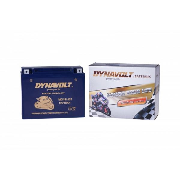 Dynavolt GEL MG18L-BS / MG50-18L-A / G50N18LA2 (DIN 52012)