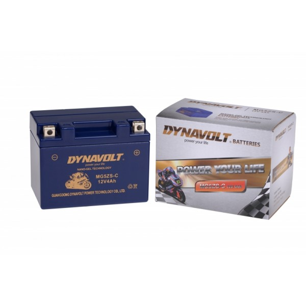 Dynavolt GEL MG5ZS-C / YTX4L-BS / G12-4 (DIN 50499)