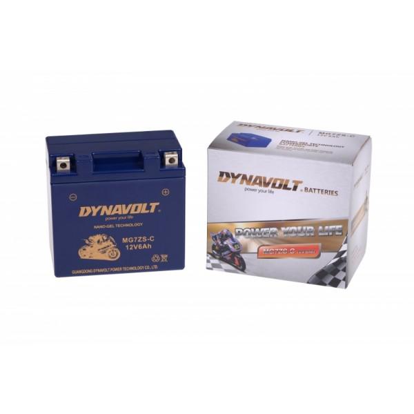 Dynavolt GEL MG7ZS-C / YTX7L-BS / GTZ7-S (DIN 50702)