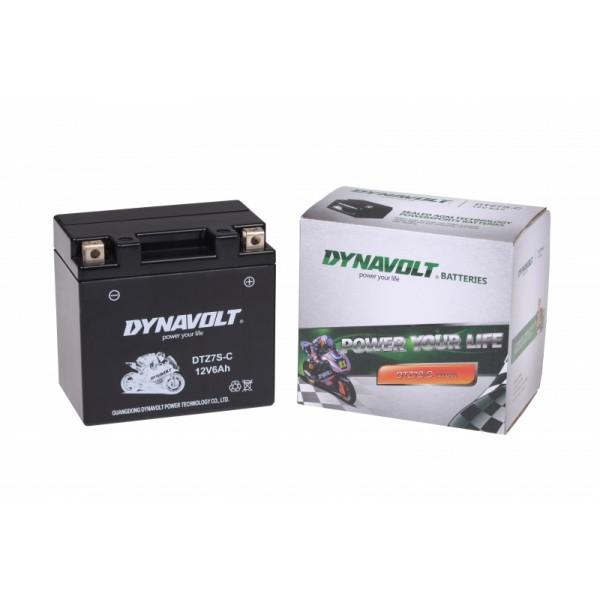 Dynavolt SLA DTZ7S-C / DTZ7-S / YTZ7-S (DIN 50702)