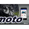 FOBO Bike 2 Motorfiets Bandenspanning en Temp. Monitor Kit Zwart (2st, bluetooth)
