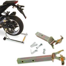 Kern Stabi - Paddockstand - Pro Serie V - met  Klick en Vast Adapterset (Met Racebuttons)