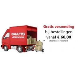 Gratis verzending vanaf € 50,00