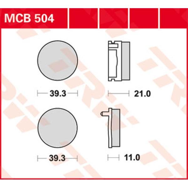 MCB 504