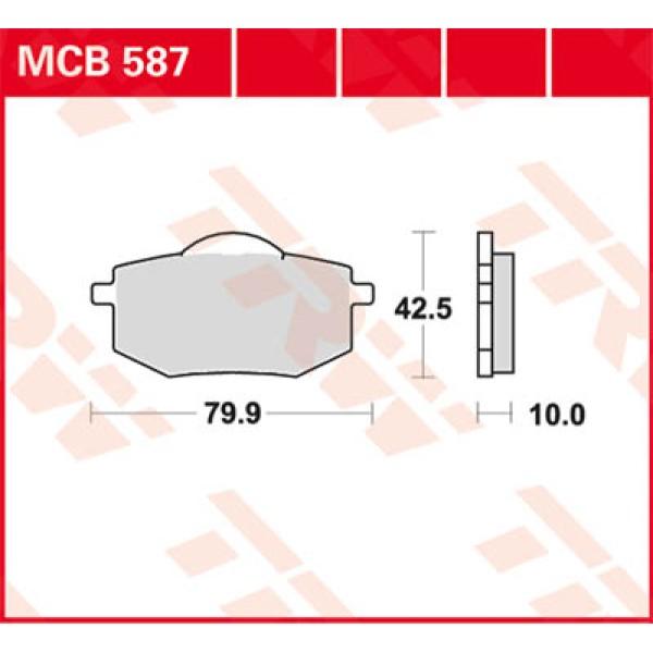 MCB 587