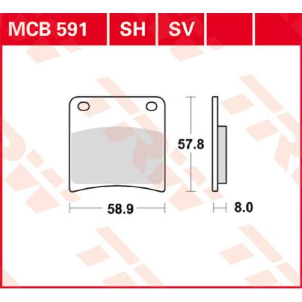 MCB 591 SH